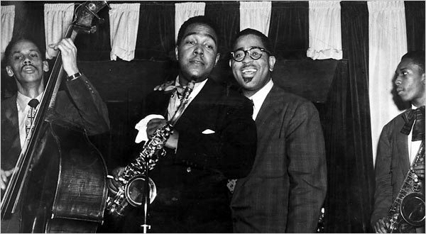 tommy-potter-charlie-parker-dizzy-gillespie-and-john-coltrane-at-birdland-1951-f25
